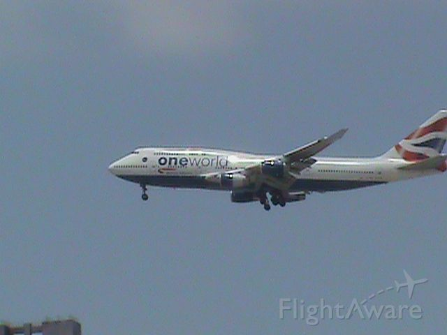 Boeing 747-400 (G-CIVI)
