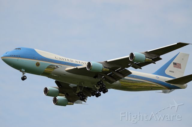 N28000 — - Air Force One was practicing Touch and Go Landings near Atlantic City NJ.