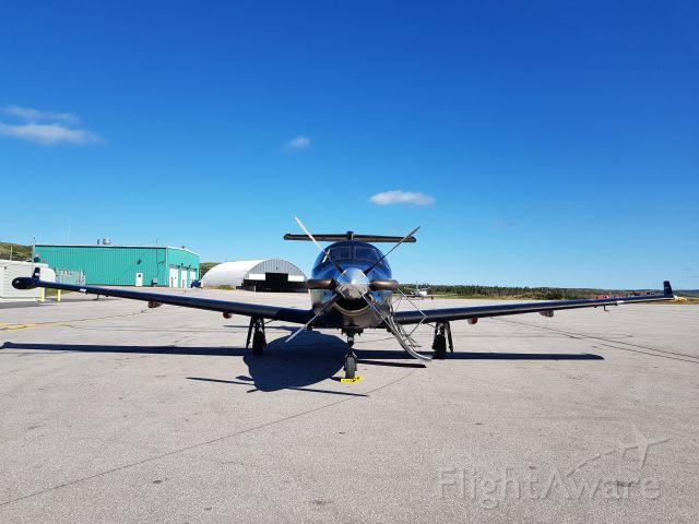 Pilatus PC-12 (C-GMQZ)