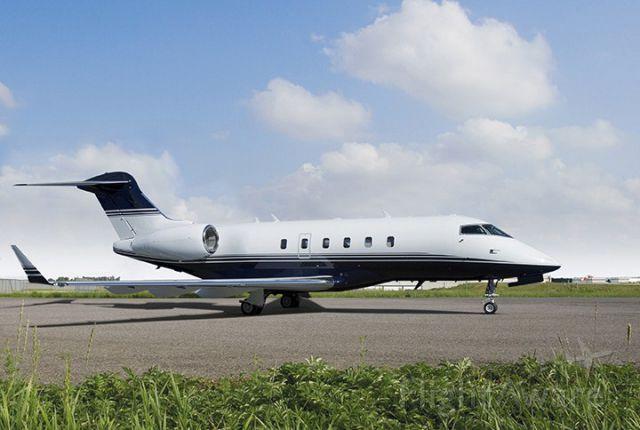 Bombardier Challenger 300 (XSR609)