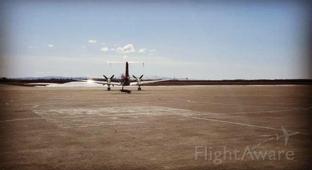 Beechcraft 1900 (N972EA) - 972 departing Galena Alaska on a beautiful day!