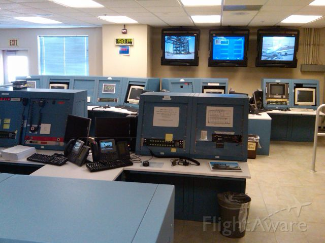 — — - Dryden Mission Control Center (MCC) at Edwards AFB (KEDW) for the shuttle orbiters after they had landed and during processing for the ferry return flight back to Kennedy.