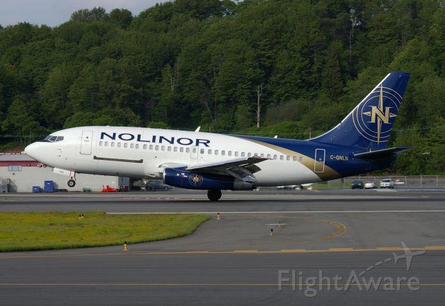 C-GNLN — - Norlinors 737-2B6C seen landing at KBFI.