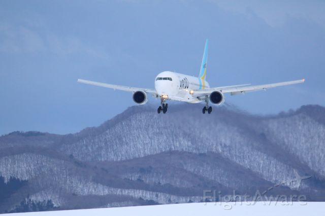 BOEING 767-300 (JA98AD) - hakodateairport hokkaido japanbr /16.Jan.2017