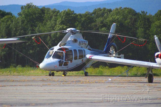 Eurocopter EC-155 (N797AZ) - EUROCOPTER EC 155 B1 EC55 at William H. Morse State Airport KDDH (Bennington, VT).  Photo taken by Christopher Wright.