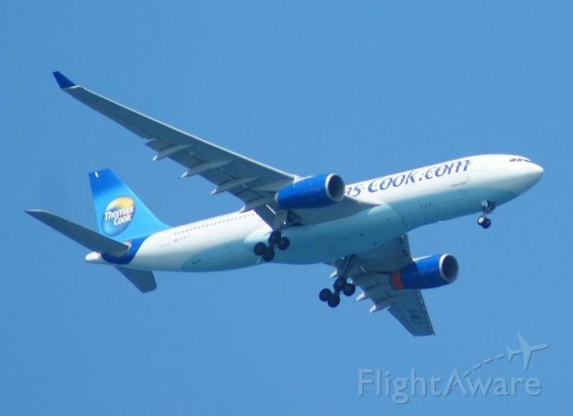 Airbus A330-200 (G-MLJL) - On approach to POP