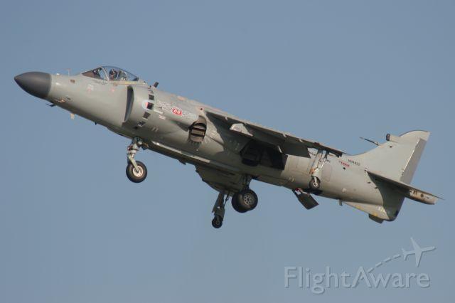 Cessna Skylane (N94422) - Privately Owned Royal Navy Sea Harrier at Oshkosh 2010