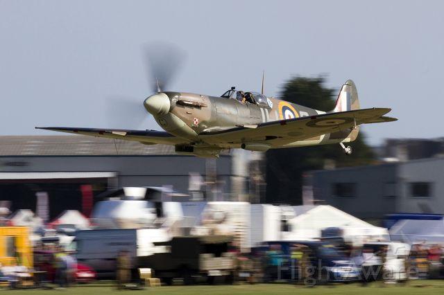 G-MKVB — - Air Side capture of Supermarine 349 Spitfire LF5B G-MKVB/BM597/JH-C [cn.CBAF.2461] at the RAFA Charity Shoreham EGKA Airshow England 31.8.2013.