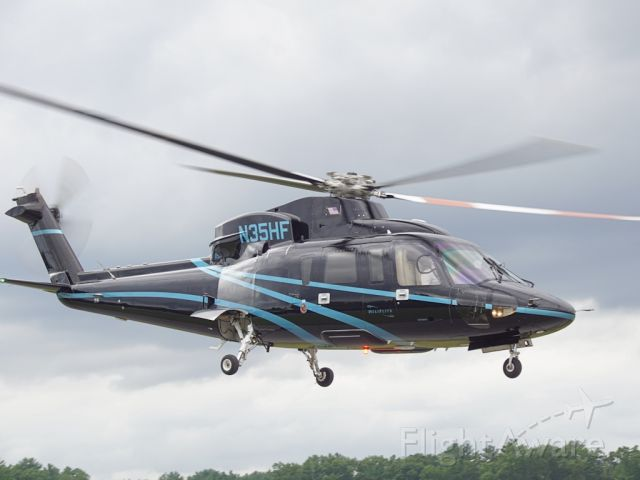Sikorsky S-76 (N35HF) - Taken at Saratoga County Airport, NY on July 18, 2019