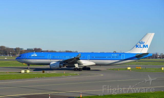 "Airbus A330-300 (PH-AKB) - KLM Airbus A330-303 PH-AKB ""Piazza Navona - Roma"" in Amsterdam"