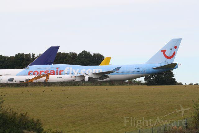 Boeing 747-200 (F-HLOV) - Ready for the breakers axe, 747-422, F-HLOV