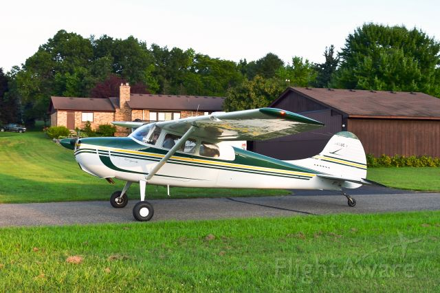 Cessna 170 (N3498C) - Cessna 170B N3498C in Brighton