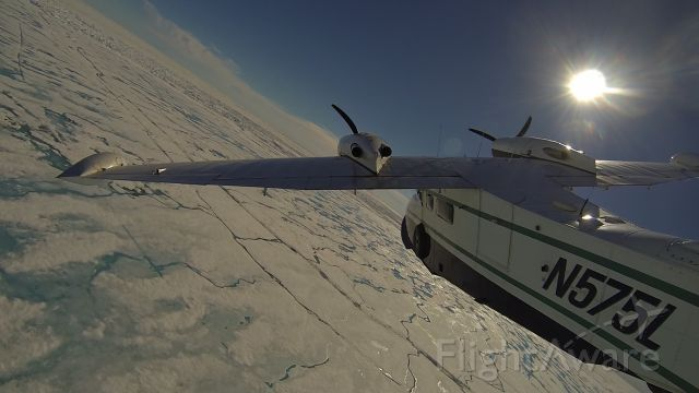 Grumman G-44 Widgeon (N575L) - Grumman Widgeon over the Arctic Ocean, Alaska