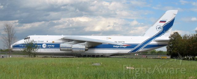 RA-82078 — - BIG Russian jet in Charlotte today, dont know what it was dropping off or picking up...