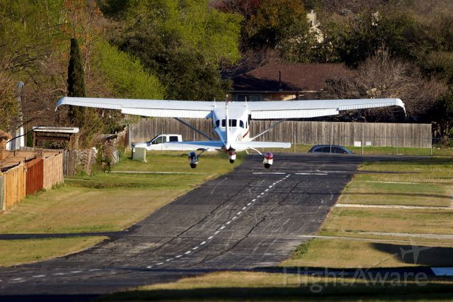 Cessna 206 Stationair (N780A) - Departing on 12