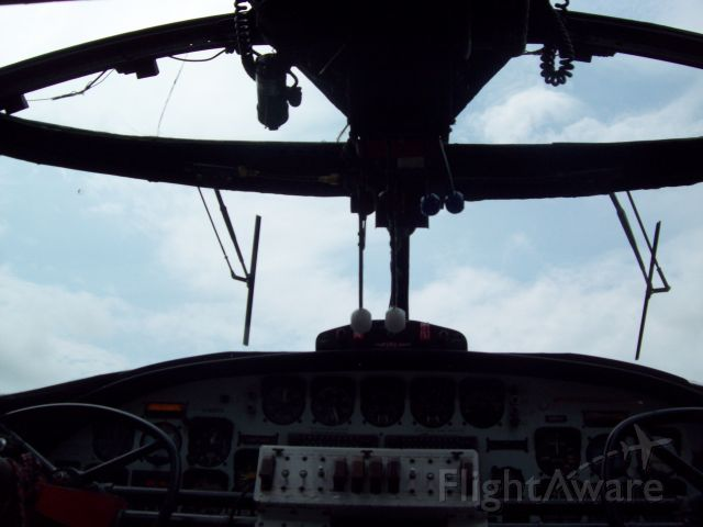 — — - This is the cockpit of a PBY