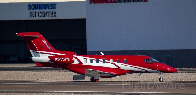 Pilatus PC-24 (N955PS) - Spotted at KSDL on December 26, 2020<br />Spotting location: Airport business center
