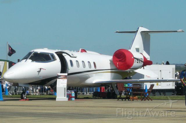 Learjet 60 (N76XR)
