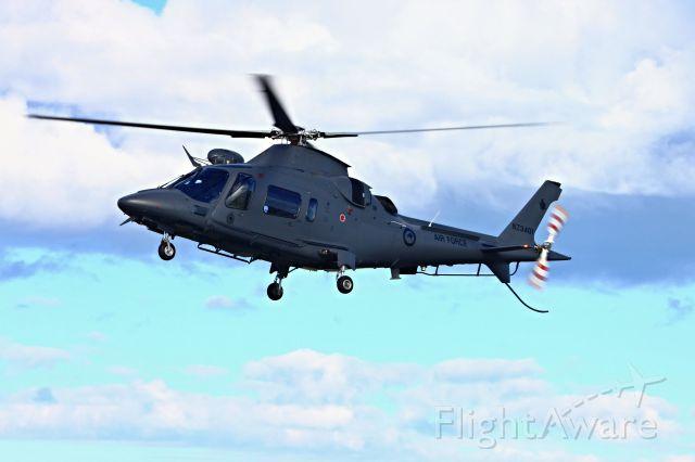 BOEING 777-300 (ANZ3401) - Agusta A109LUH