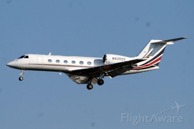 Gulfstream Aerospace Gulfstream IV (N435QS) - 31-Jul-07