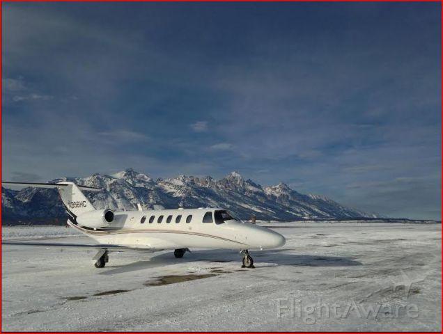 Cessna Citation CJ2+ (N956HC) - N956HC in JAC