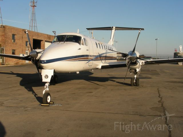 Beechcraft 1900 (N420CM) - 1990 Beech 1900 sitting on the ramp on a nice cold October evening in upstate NY