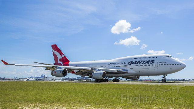 Boeing 747-400 (VH-OJM)