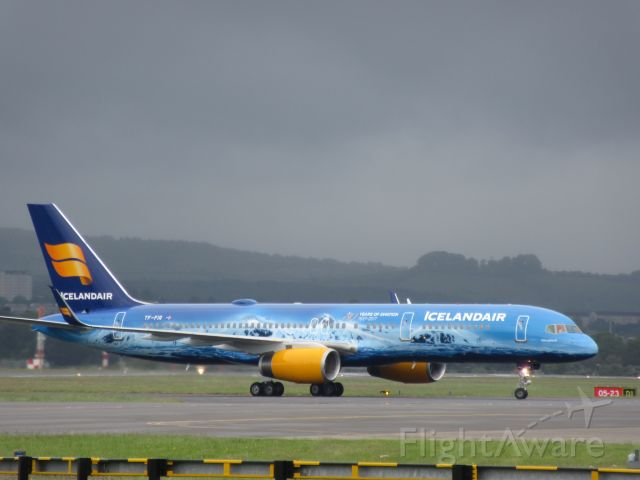Boeing 757-200 (TF-FIR) - 80 Years of Aviation Livery!!!