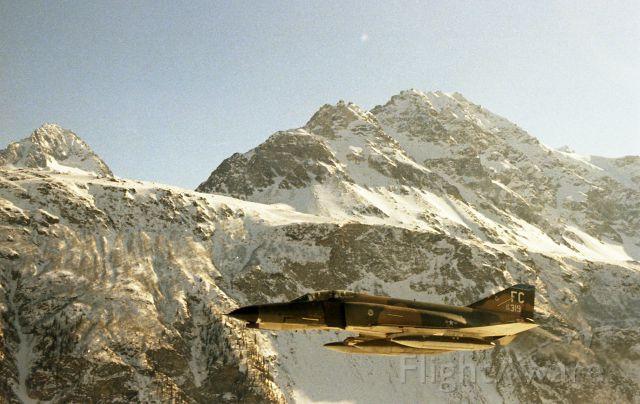 N68319 — - Hornet Squadron Phantom below Denali