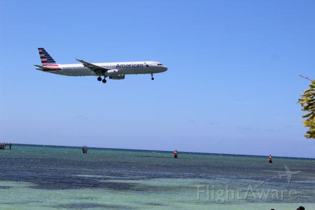 Airbus A321 (N510UW) - Welcome to Jamrock - Montego Bay, Jamaica
