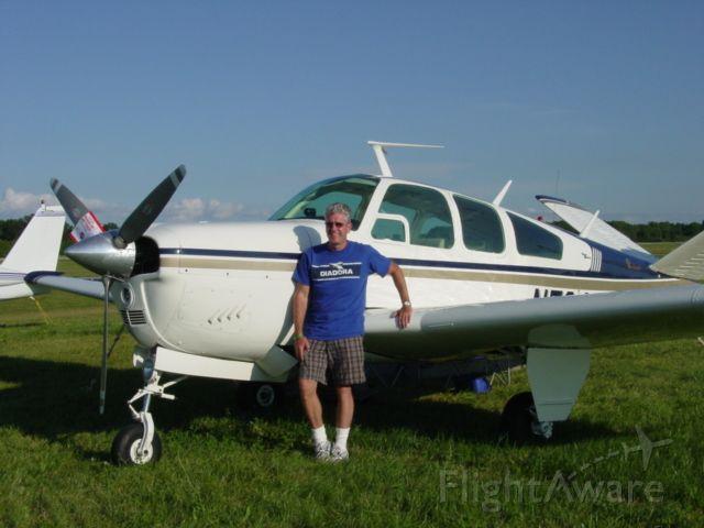 N5849K — - John Swaney Oshkosh summer 2008 with S-35 Bonanza