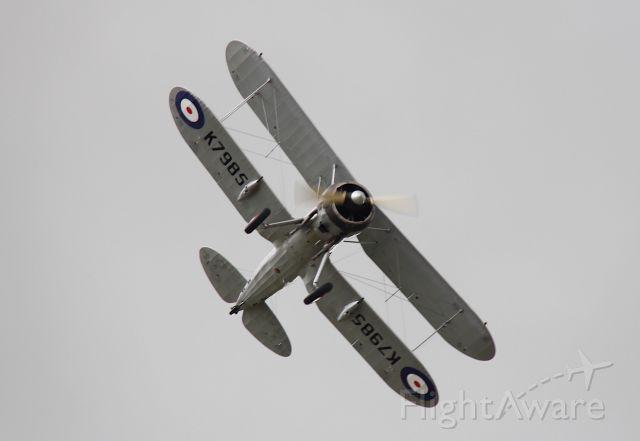 G-AMRK — - Gloster Gladiator<br />Flying Legends 2015<br />Duxford, UK<br />Photo: 12.07.2015