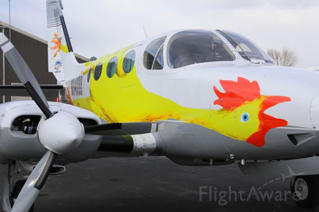 Cessna 340 (N340BB) - Rubber Chicken Airlines