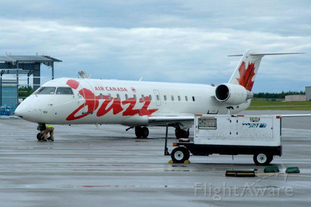— — - Air Canada Jazz at Prince George, BC, Canada