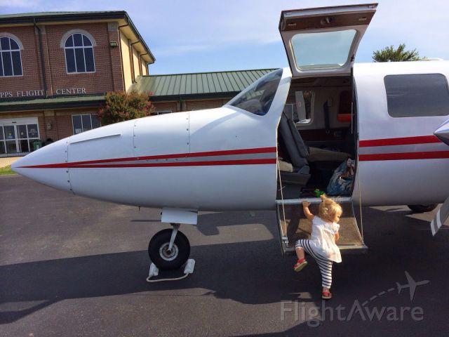 Piper Aerostar (N90509) - Lets go Papa.