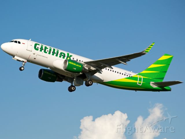 Airbus A320 (PK-GQN) - Fresh registration from Citilink Indonesia