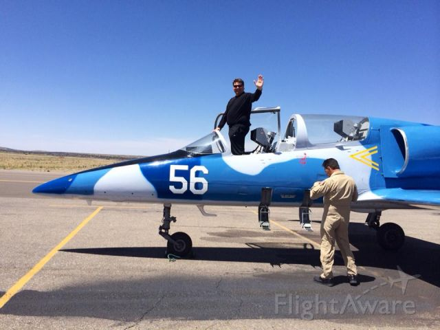 Aero L-39 Albatros — - Just down from my 1 hour L-39 hop at Jet Warbird Training Center with Larry Salganak.  Nice guy and one fun ride!!