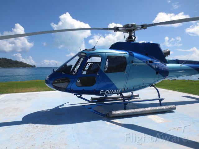 F-OHAM — - On the pad in Bora Bora, French Polynesia