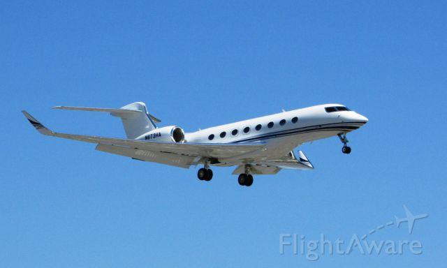 Gulfstream Aerospace Gulfstream G650 (N673HA) - Landing on RWY 20R
