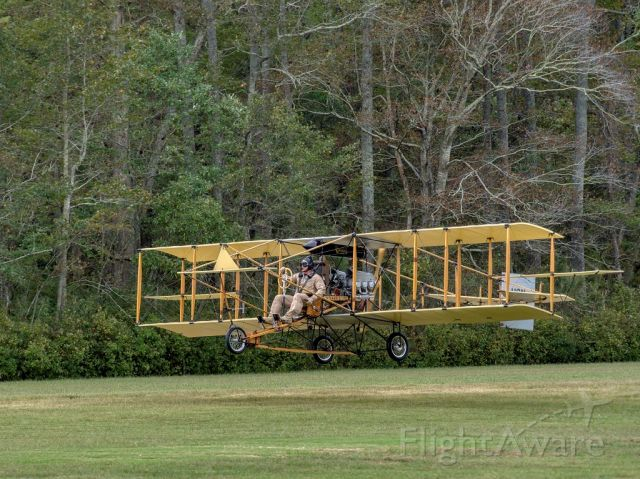 N44VY — - Ely-Curtis replica by Robert L Coolbaugh.br /Image taken at the Biplanes and Brews WWI Air Show presented by the Military Aviation Museum.br /2019-10-06