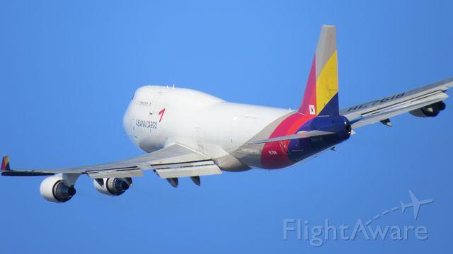 Boeing 747-200 (HL7618) - Departure from Ted Stevens International Airport, Anchorage, Alaska