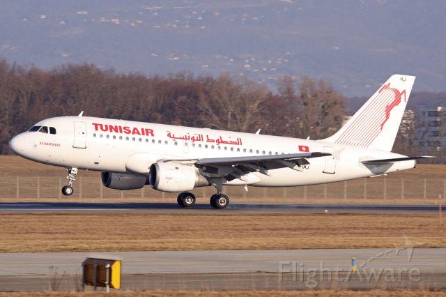 Airbus A319 (TS-IMJ)