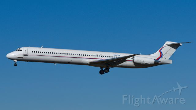 McDonnell Douglas MD-83 (N787TW) - Ameristar Jet Charter (Former Avianca) MD-83 arriving in Sioux Falls Friday Nov. 14, 2014
