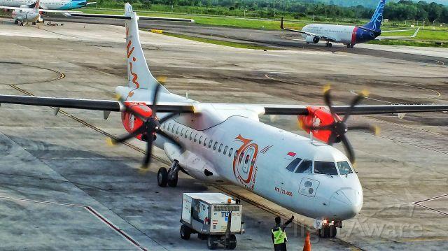 Aerospatiale ATR-72-500 (PK-WHV)