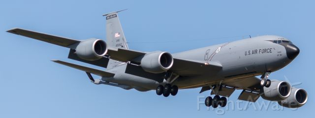 58-0062 — - MIANG KC-135Q/T on final for 5R at KYIP for the 2019 Thunder Over Michigan.