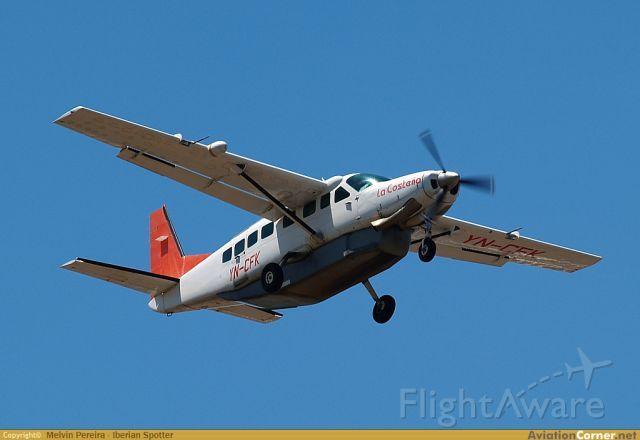 Cessna Caravan (YN-CFK) - Despegando con destino MNBL