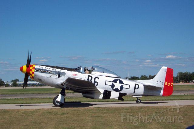 North American P-51 Mustang — - EAA 2005 P-51D Gentleman Jim.