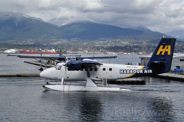 De Havilland Canada Twin Otter (C-GQKN) - Helijet
