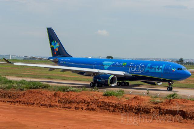 Airbus A330-300 (PR-AIT) - Azul Linhas Aereas (Tudo Azul Livery) - Airbus A330-243<br />Registration: PR-AIT<br /><br />Campinas (VCP) / Natal (NAT) <br /><br />Fotografia: Marcelo Luiz