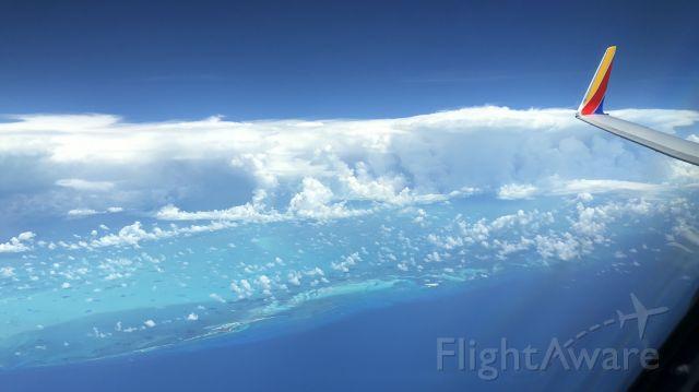 Boeing 737-700 — - Gun Key enroute from Jamaica to Orlando.